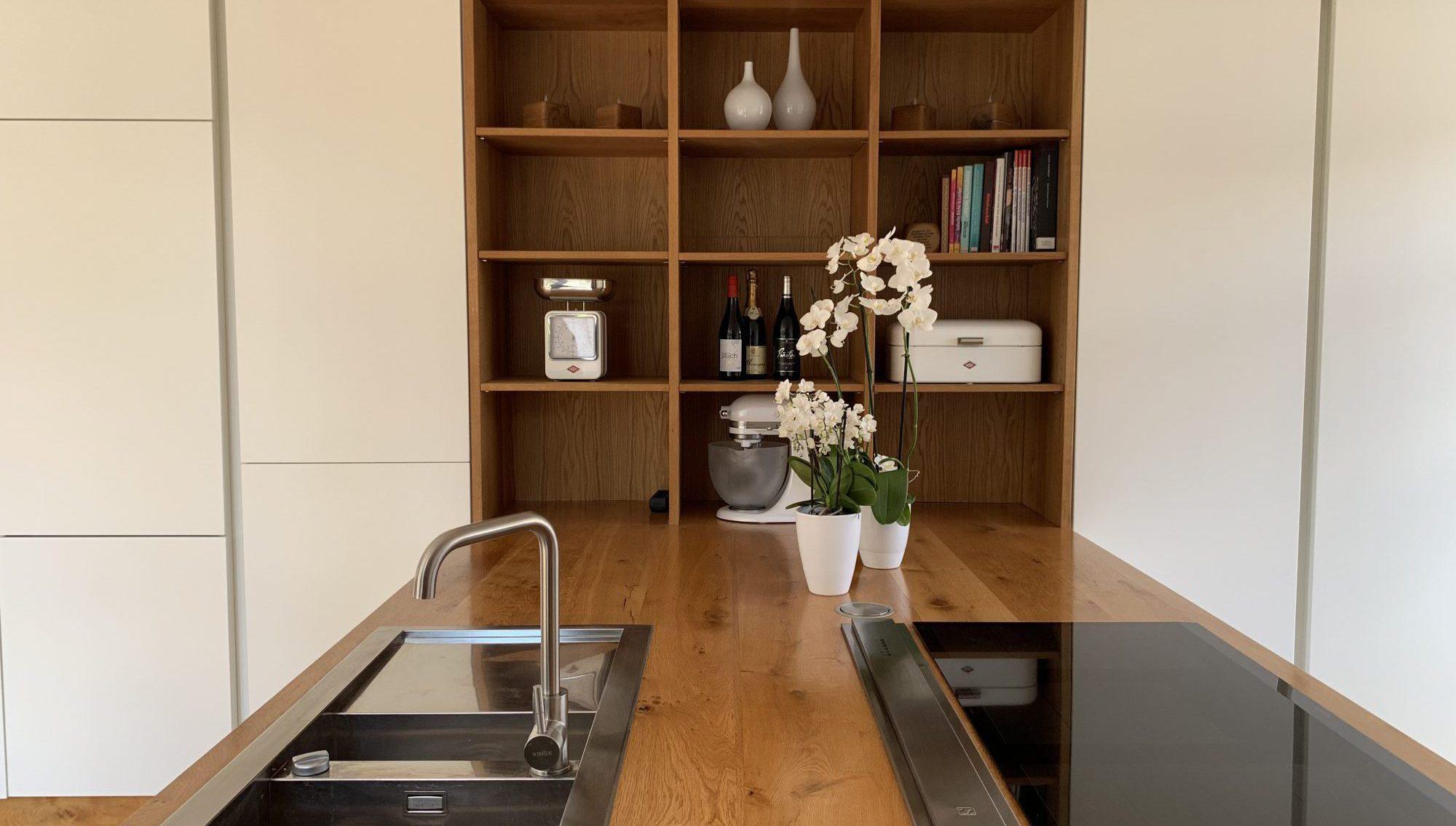 individuelle Küche vom Schreiner